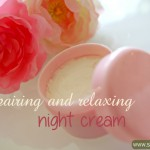 DIY: Repairing Night Cream