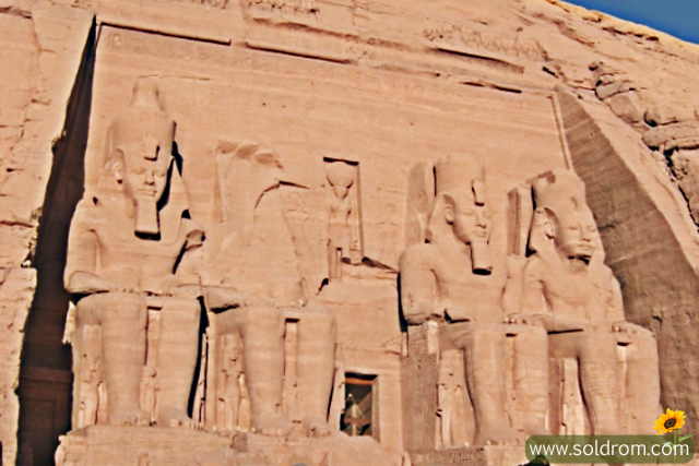 Finally after almost a week, we arrived in Abu Simbel