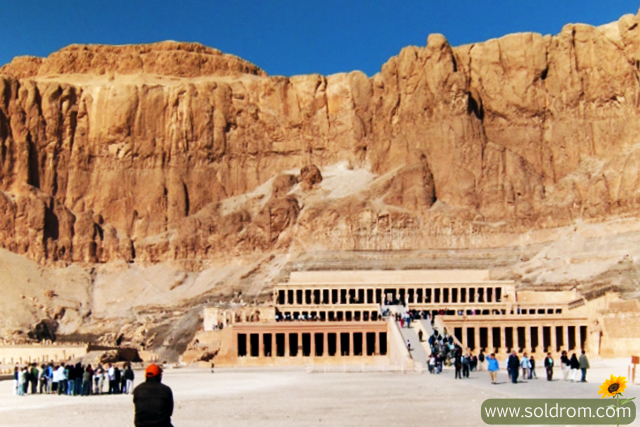 The Temple of Anubis by Hatsheptut