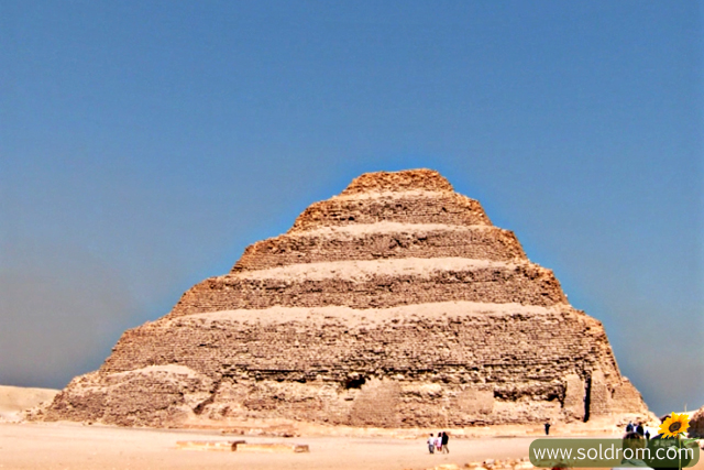 The Step-Pyramide in Saqqara