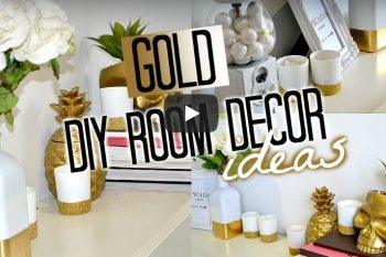 DIY Gold Interior