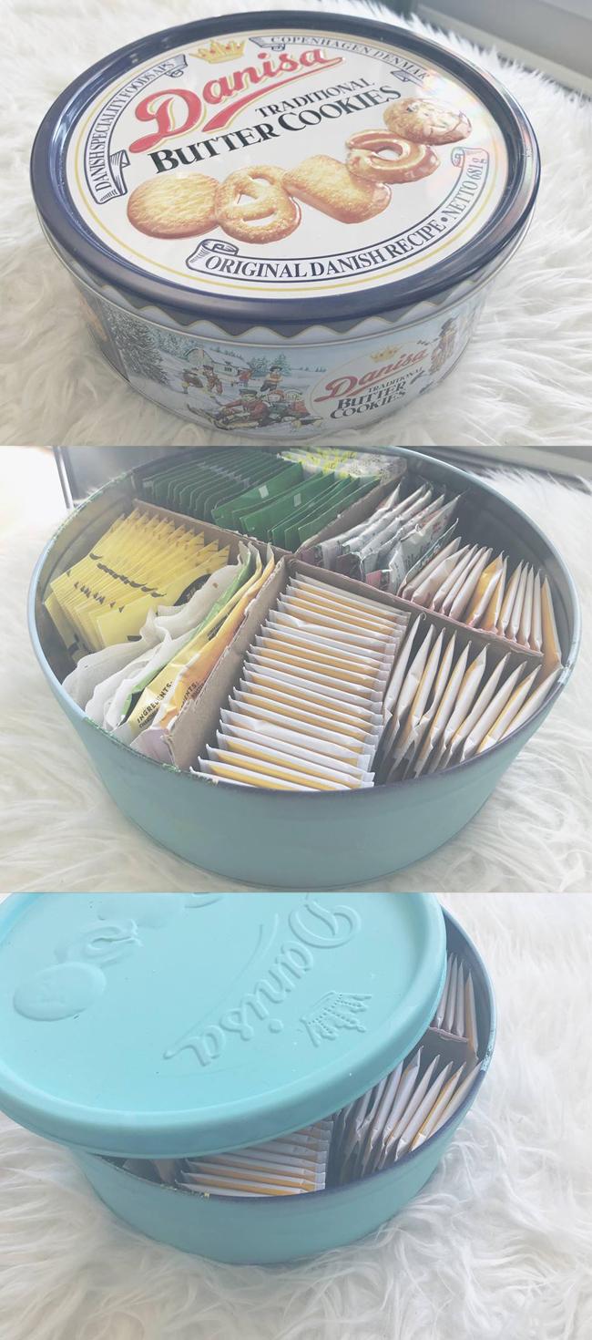 reuse cookie tin box