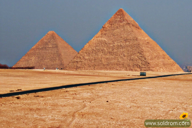 I also went inside the pyramide, it was such an amazing experience.