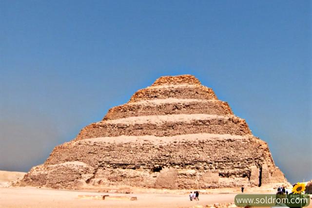 The Step-Pyramide in Saqqara