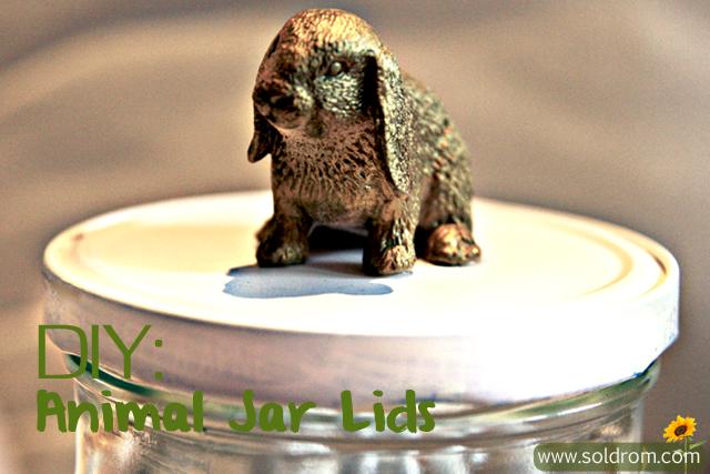 DIY: Animal Jar Lids