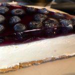 Blåbær ostekake