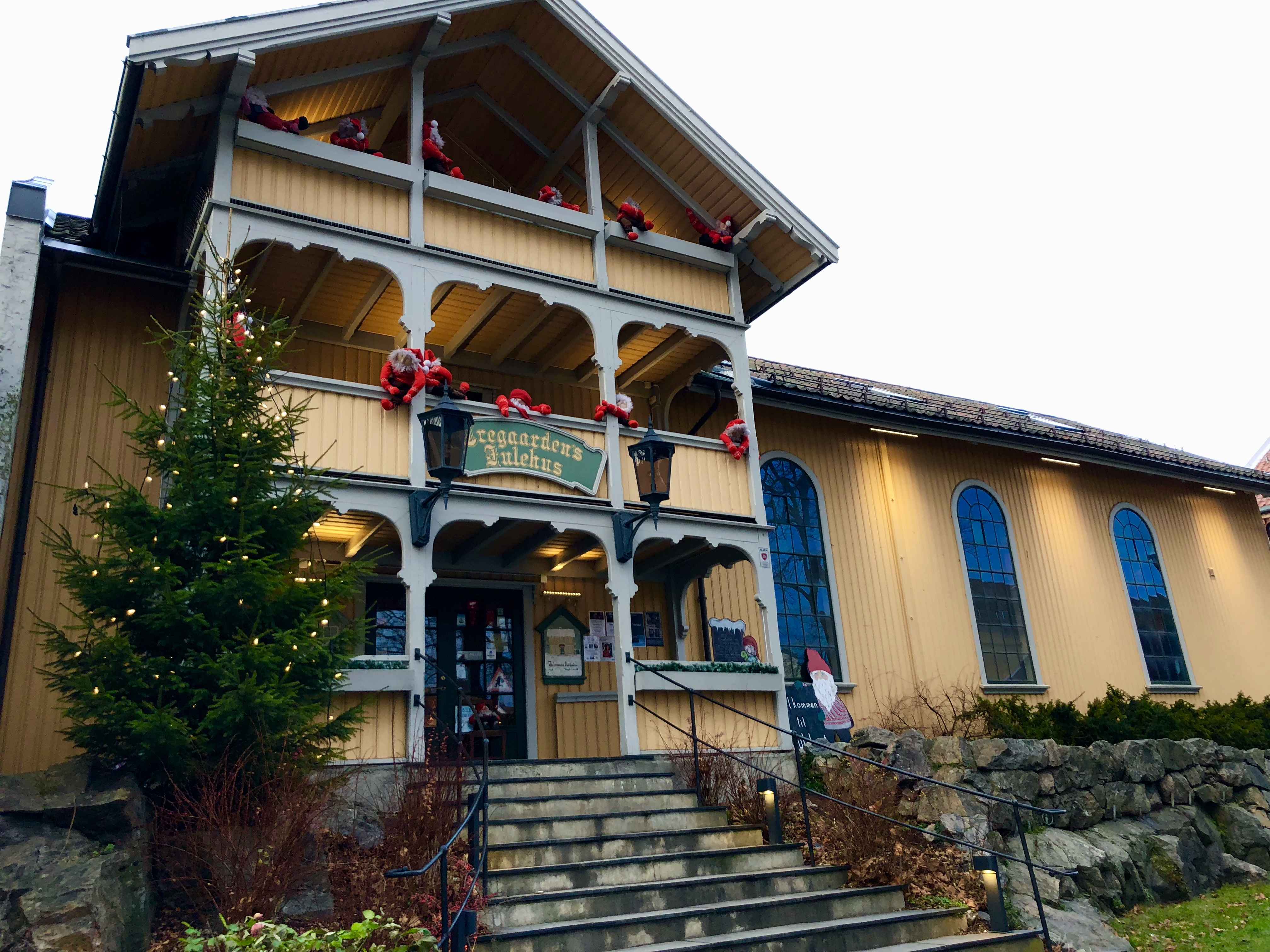 The Christmas House in Drøbak