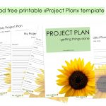 Free Project Plan -Printable Download