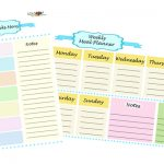 Weekly Meal Planner – why you need it too + downloads