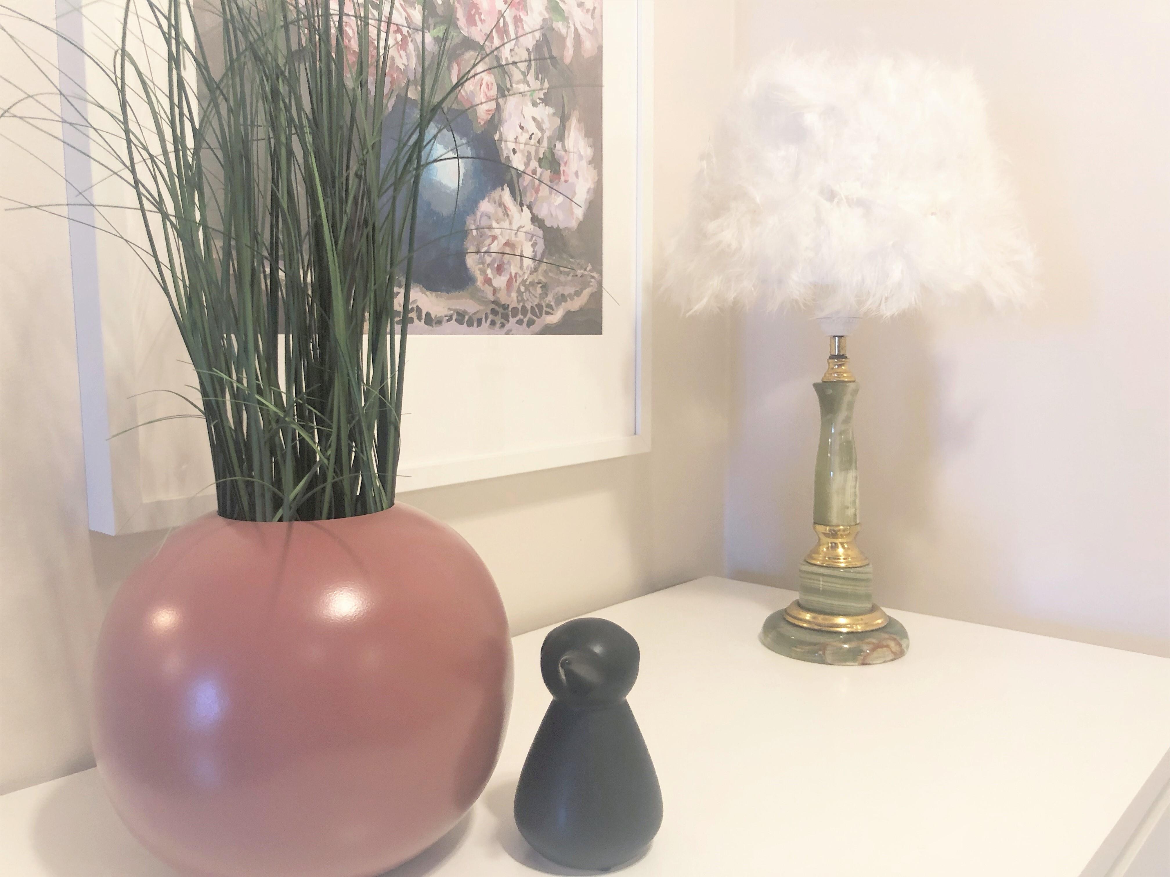 Lampe uten jording – Gammel lampe får nytt liv
