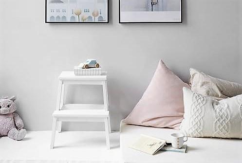minimalistisk barnerom minimalisme